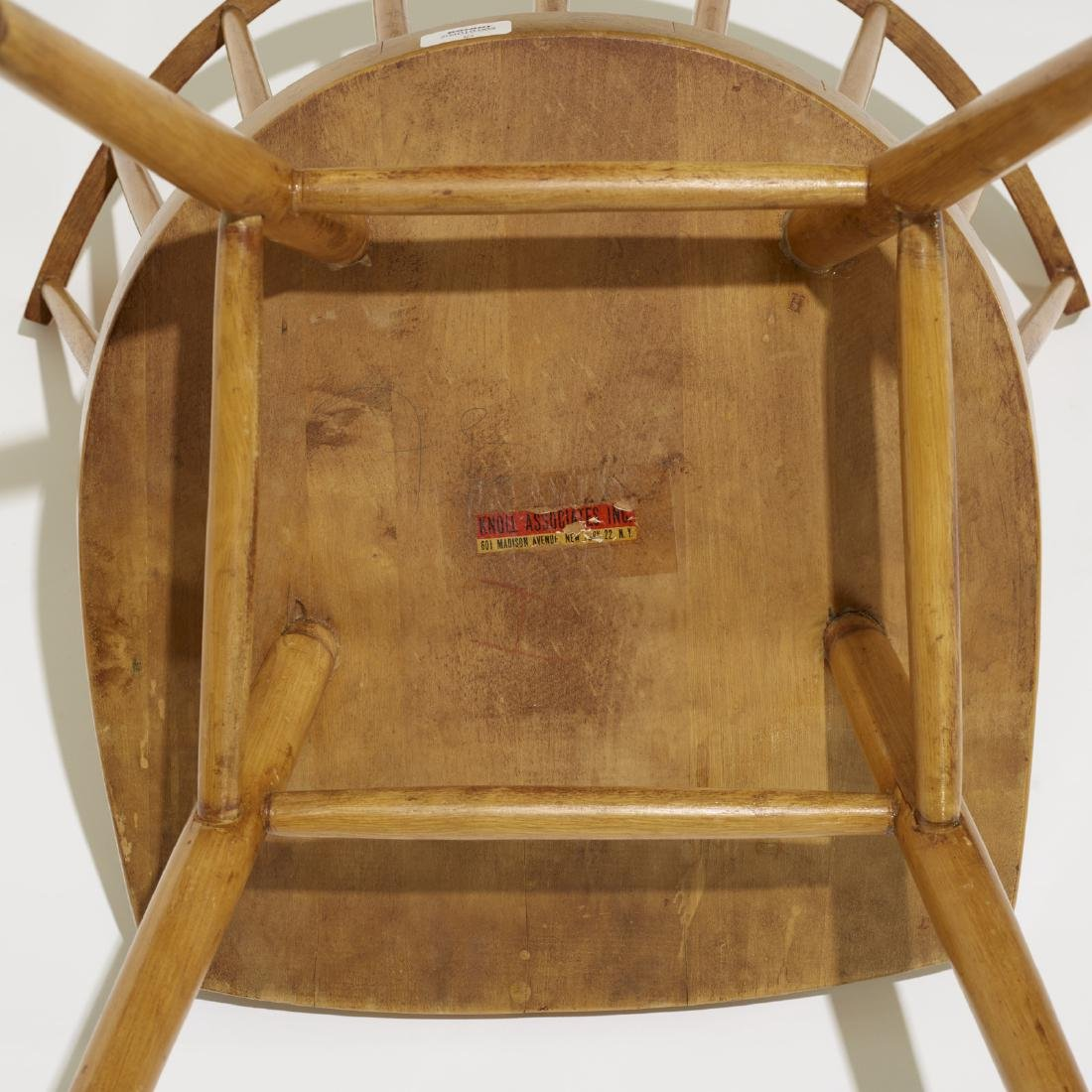 George Nakashima, dining chairs model N19, set of four - 4