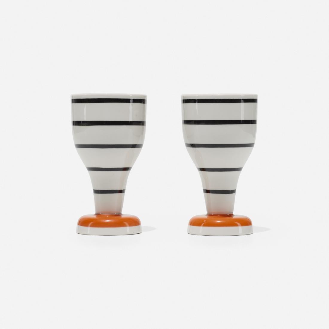 Alexander Girard, cups from La Fonda del Sol, pair