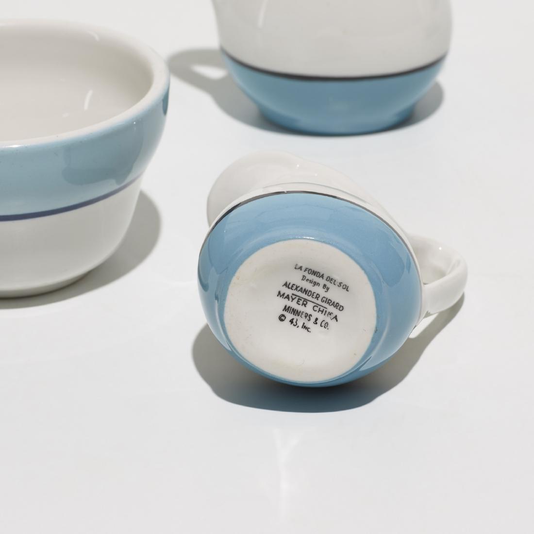Girard, collection of tableware, La Fonda del Sol - 2