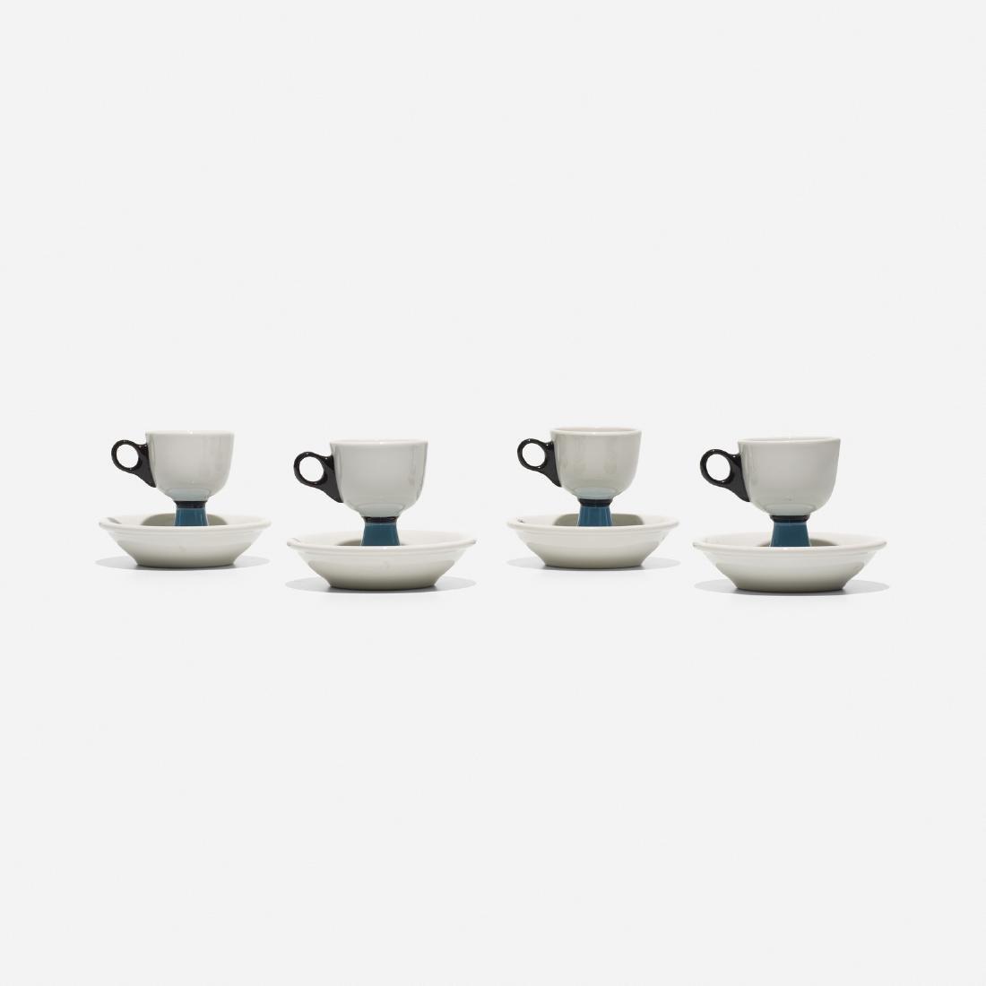 Girard, 4 cups and saucers, La Fonda del Sol - 2