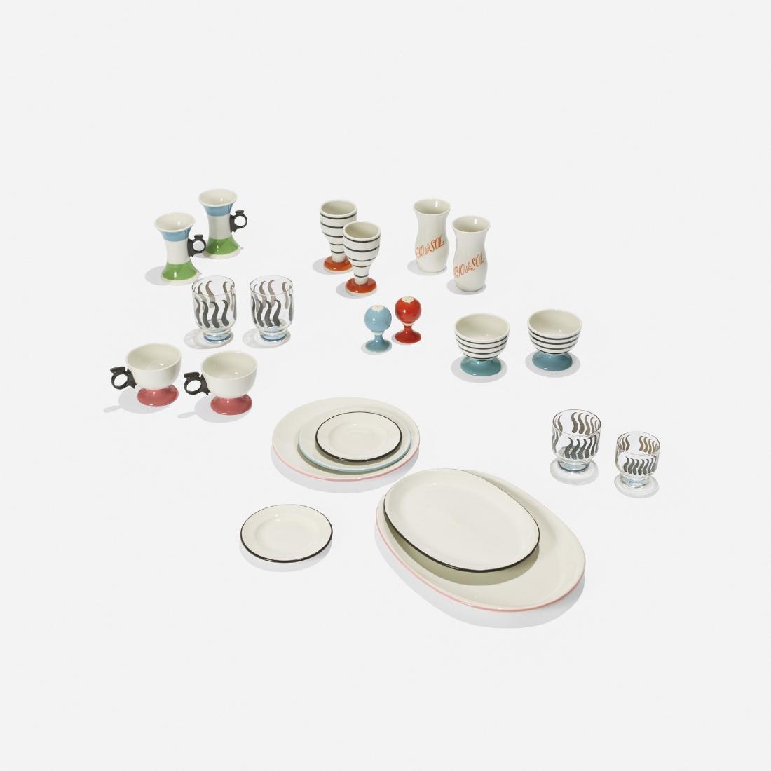 Girard, collection of tableware, La Fonda del Sol