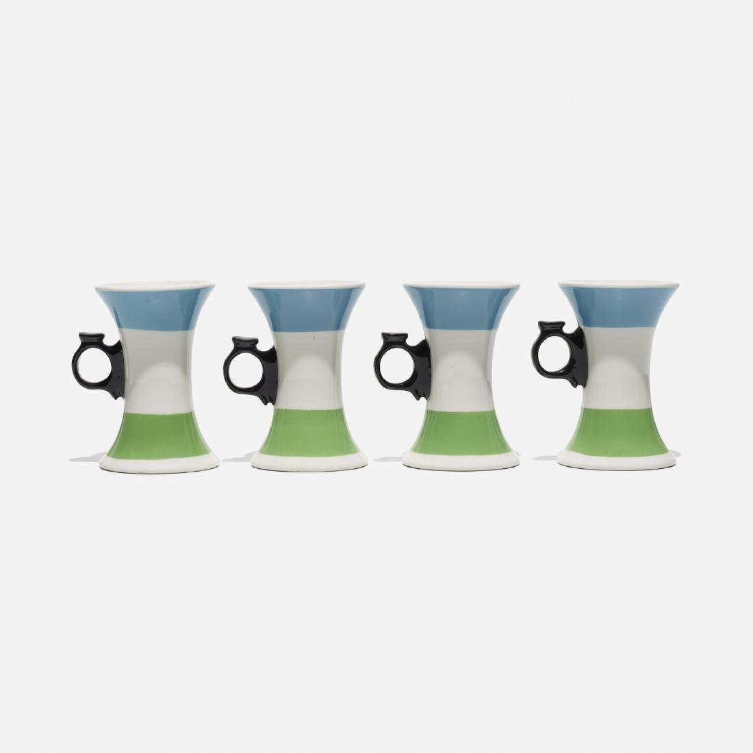 Girard, mugs from La Fonda del Sol, set of four