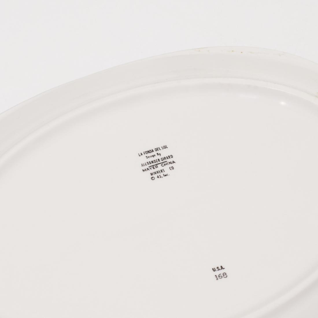 Girard, collection of tableware from La Fonda del Sol - 2