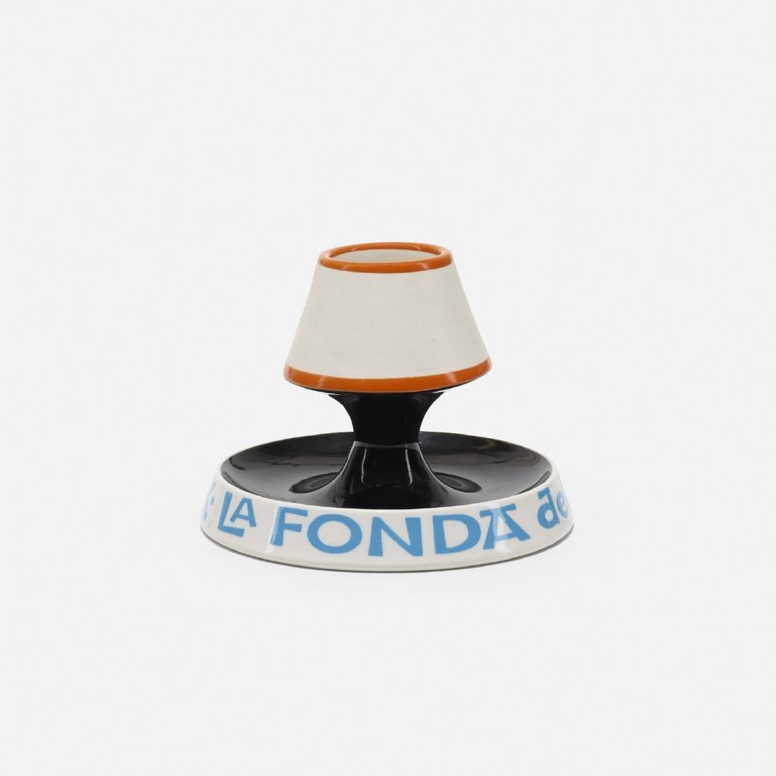 Girard, ashtray and match holder from La Fonda del Sol