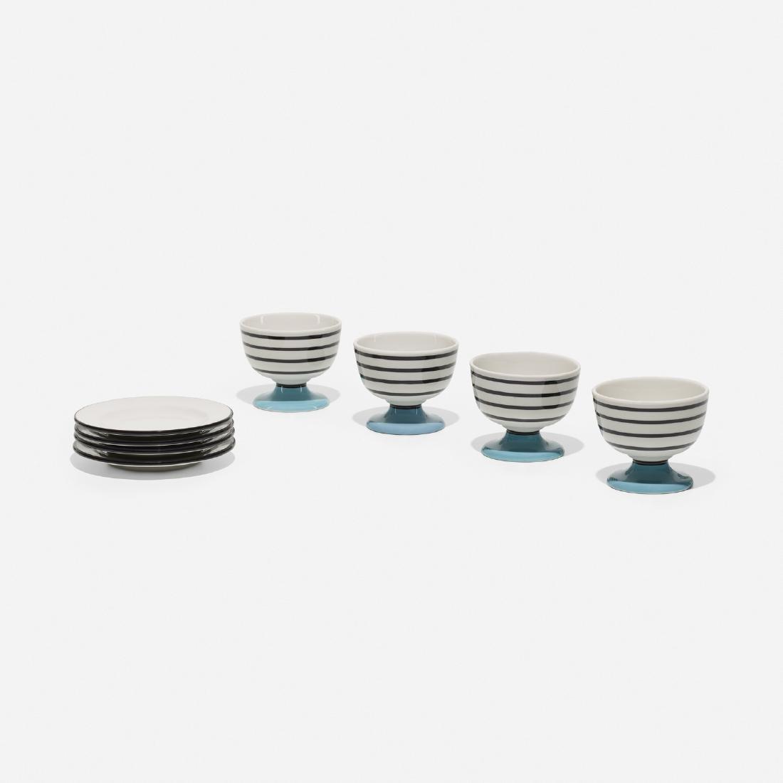 Girard, 4 bowls and plates, La Fonda del Sol