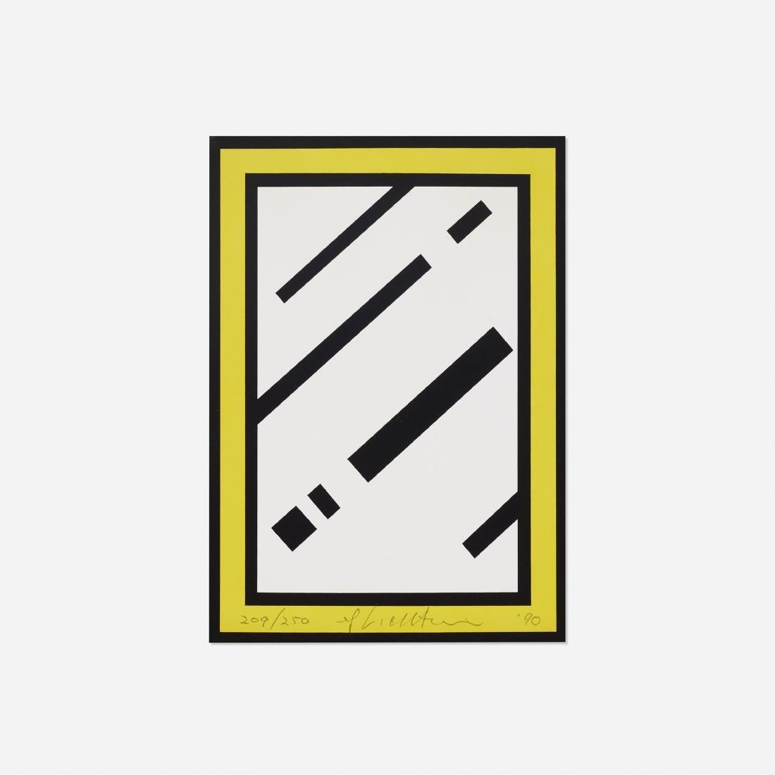 Roy Lichtenstein, Mirror (Harvey Gantt Portfolio)