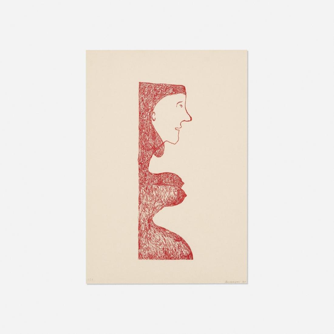 Louise Bourgeois, Pregnant Caryatid