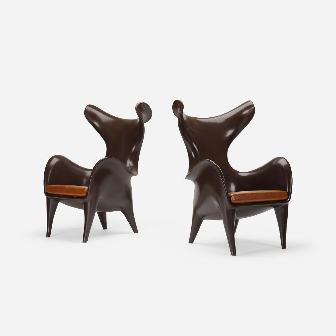 Jordan Mozer, Frankie goes to Houston chairs, pair