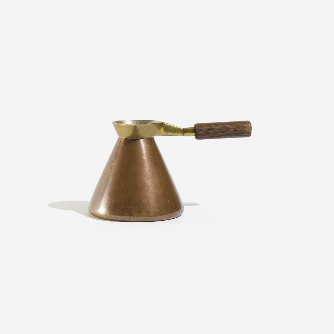 Carl Aubock II, hot chocolate pot