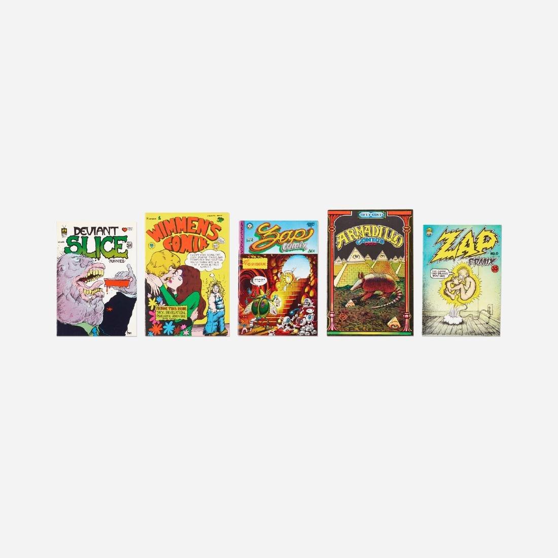 Robert Crumb, Rare comic books, collection of five