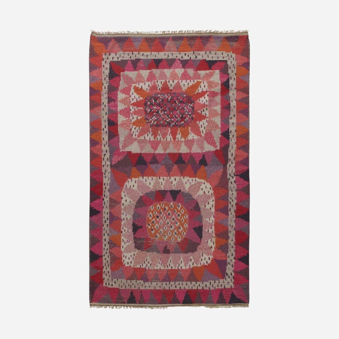 Marianne Richter, Solrosen rya carpet