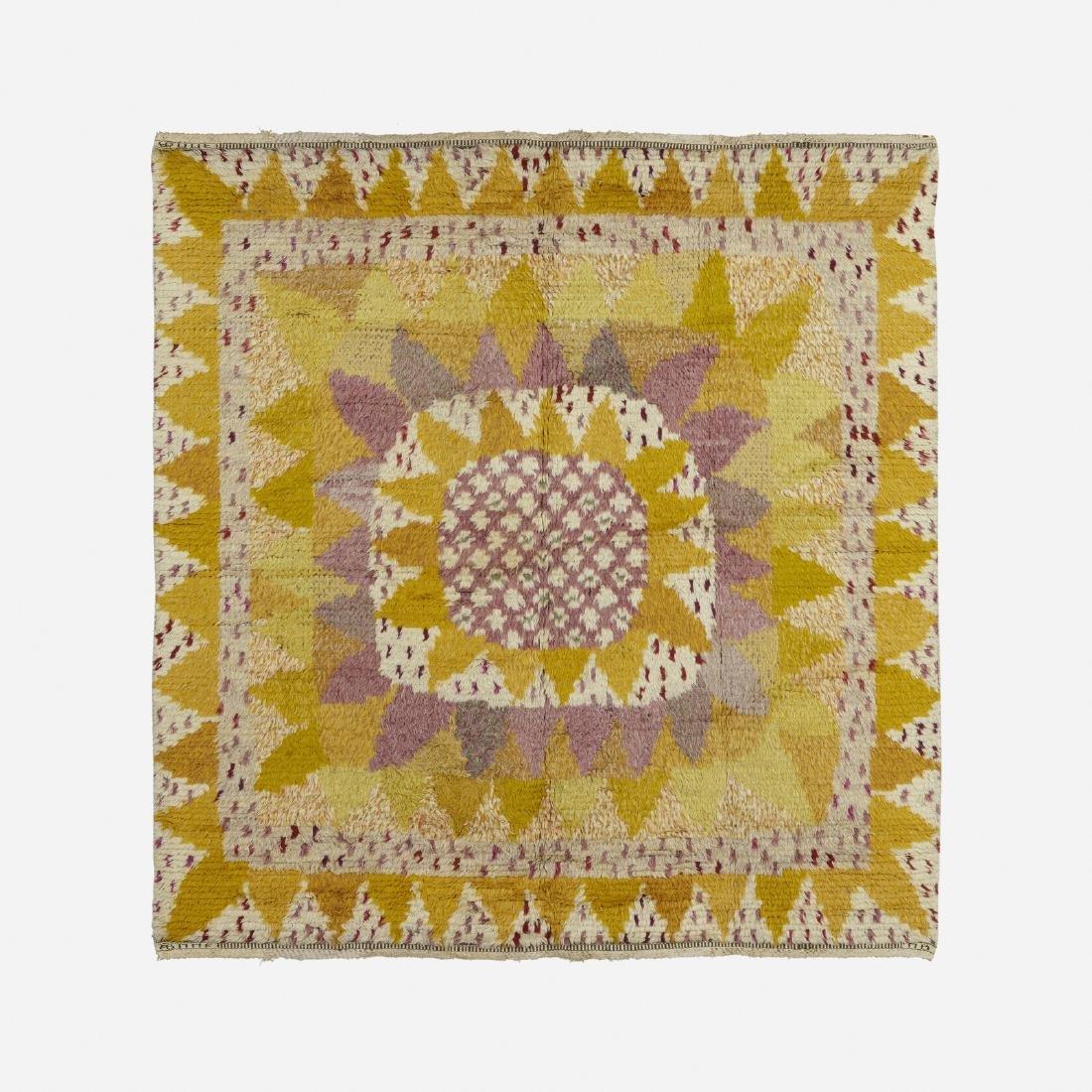Marianne Richter, Solrosen pile carpet