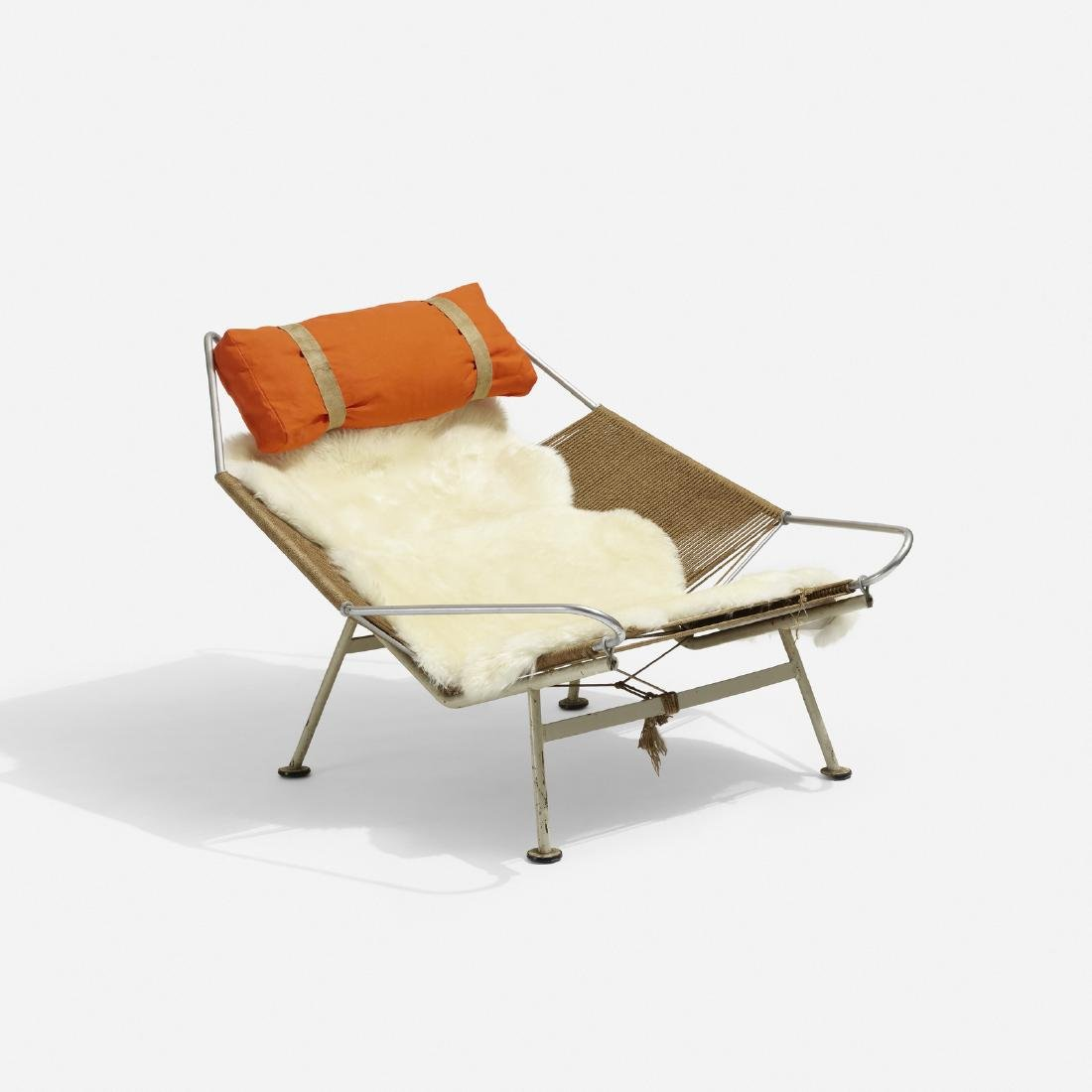 Hans J. Wegner, Flag Halyard lounge chair - 2