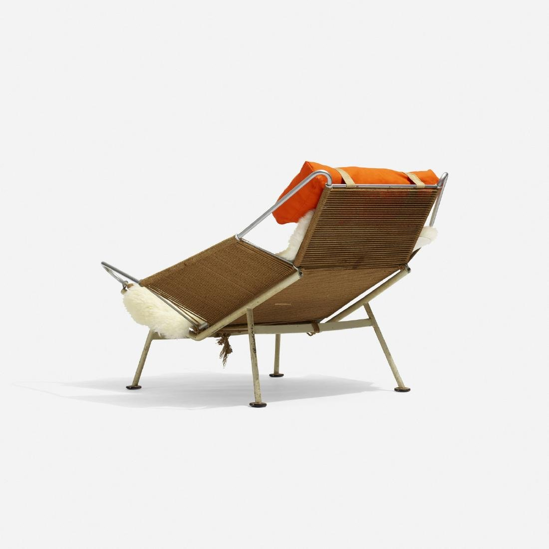 Hans J. Wegner, Flag Halyard lounge chair - 3