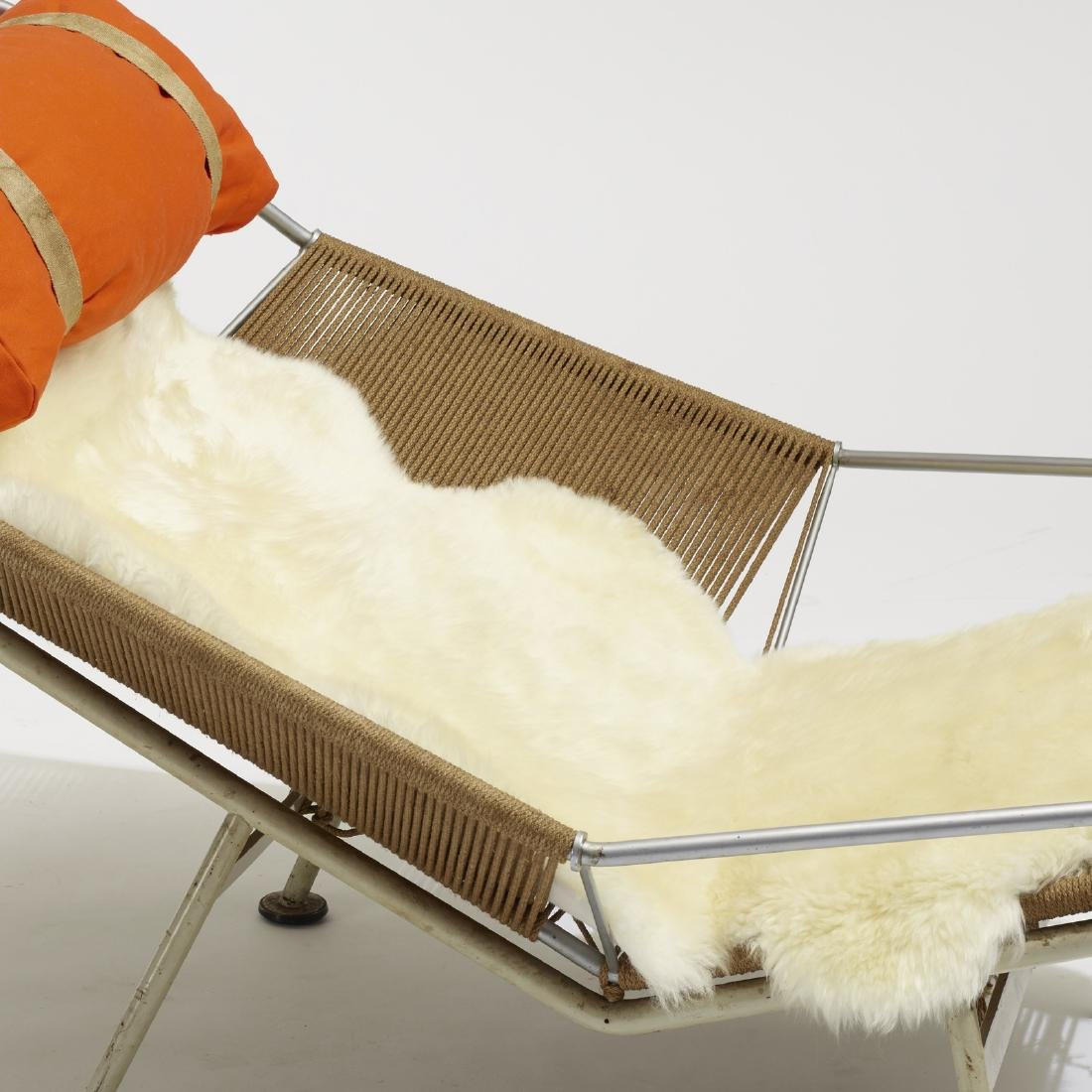 Hans J. Wegner, Flag Halyard lounge chair - 4