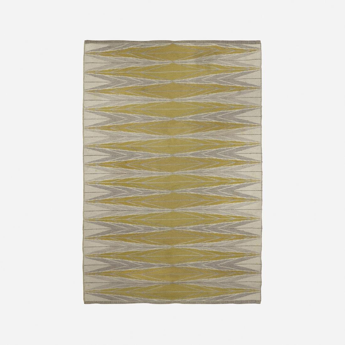 Ingrid Dessau, reversible flatweave carpet