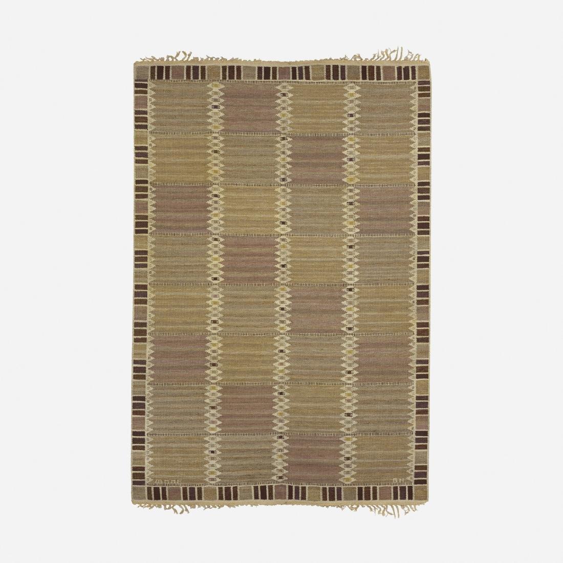 Barbro Nilsson, Salerno enkel flatweave carpet