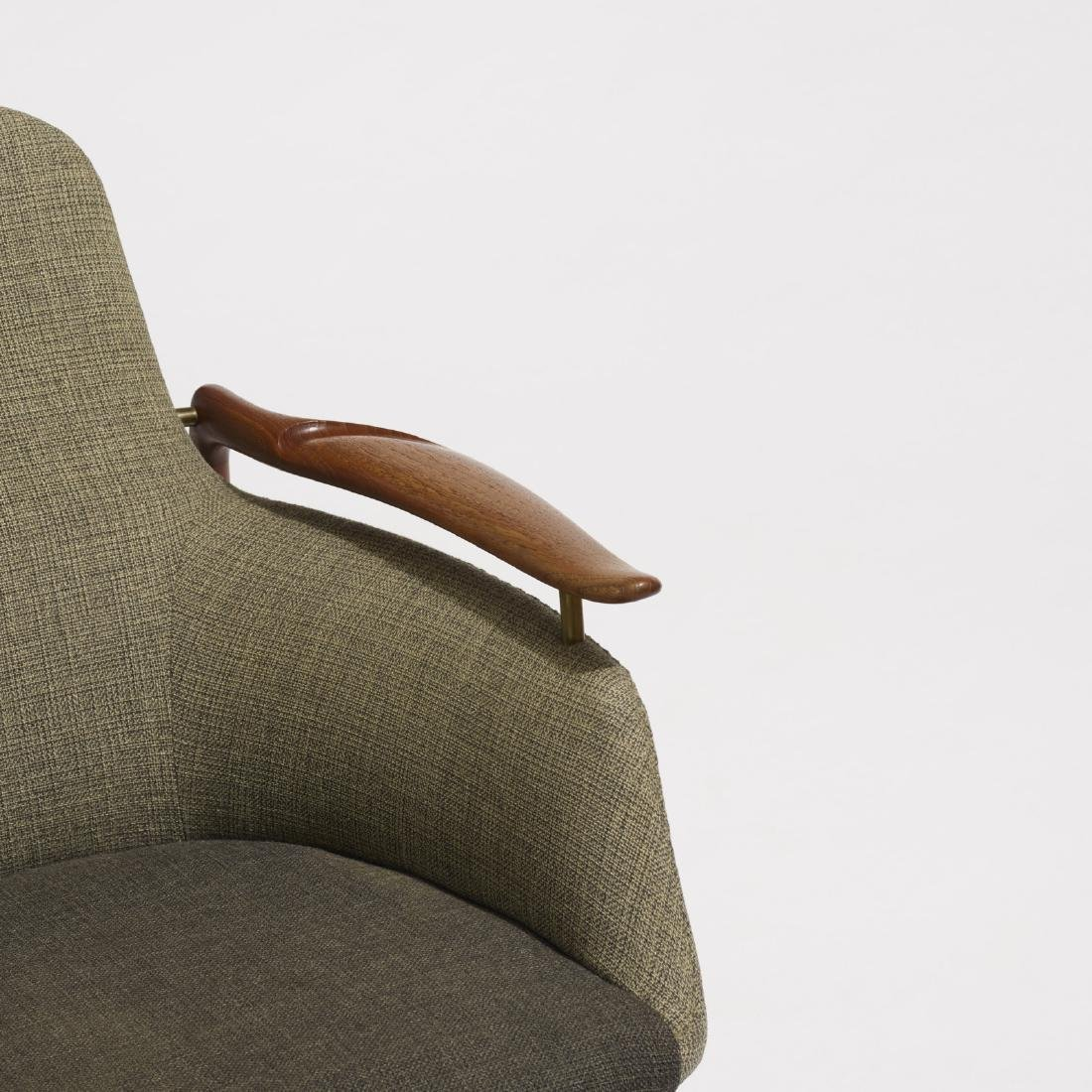 Finn Juhl, lounge chairs model NV-53, pair - 4
