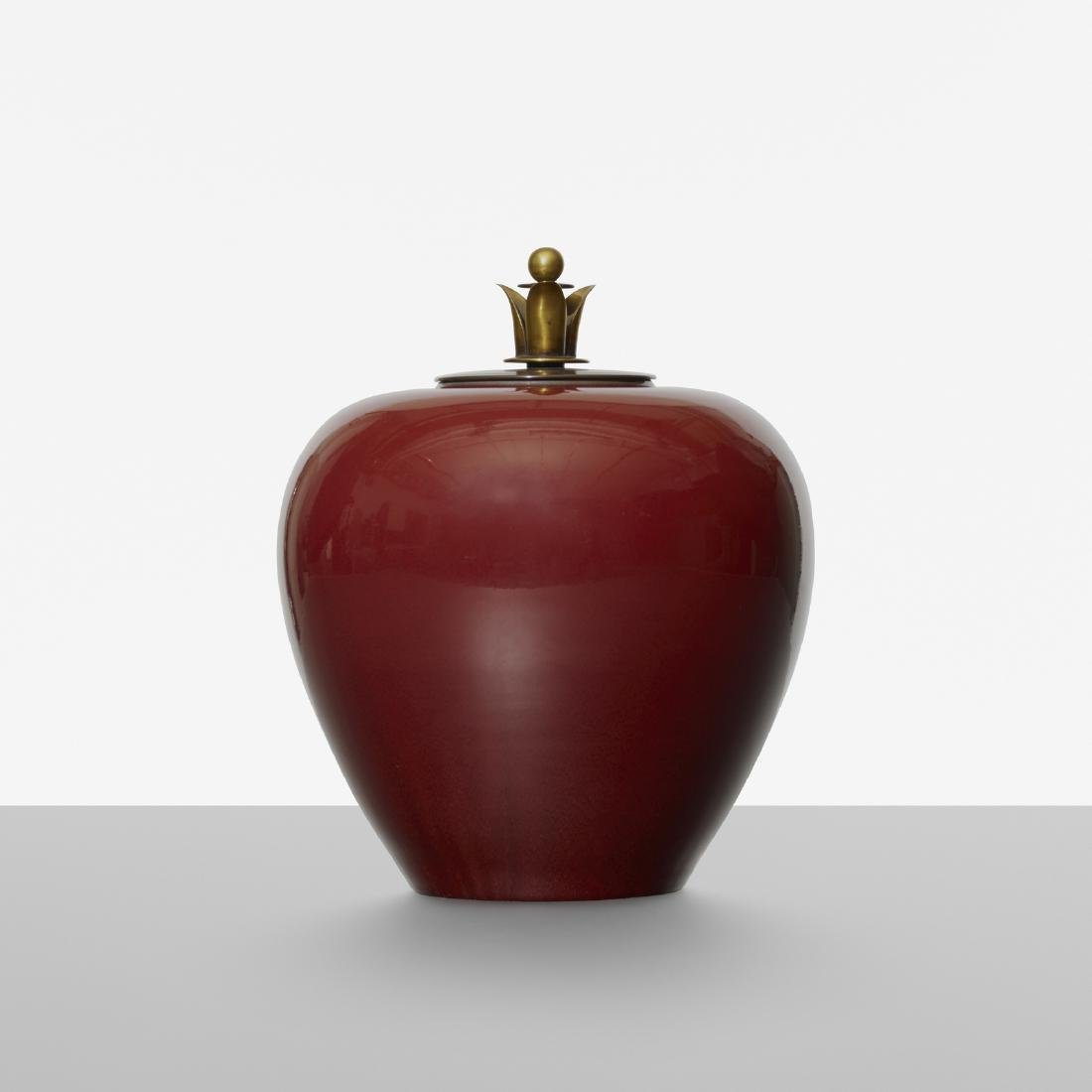 Carl Halier, lidded vessel