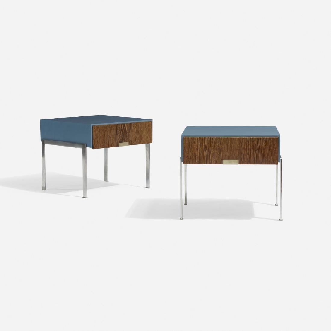 Arne Jacobsen, pair of nightstands, SAS Royal Hotel