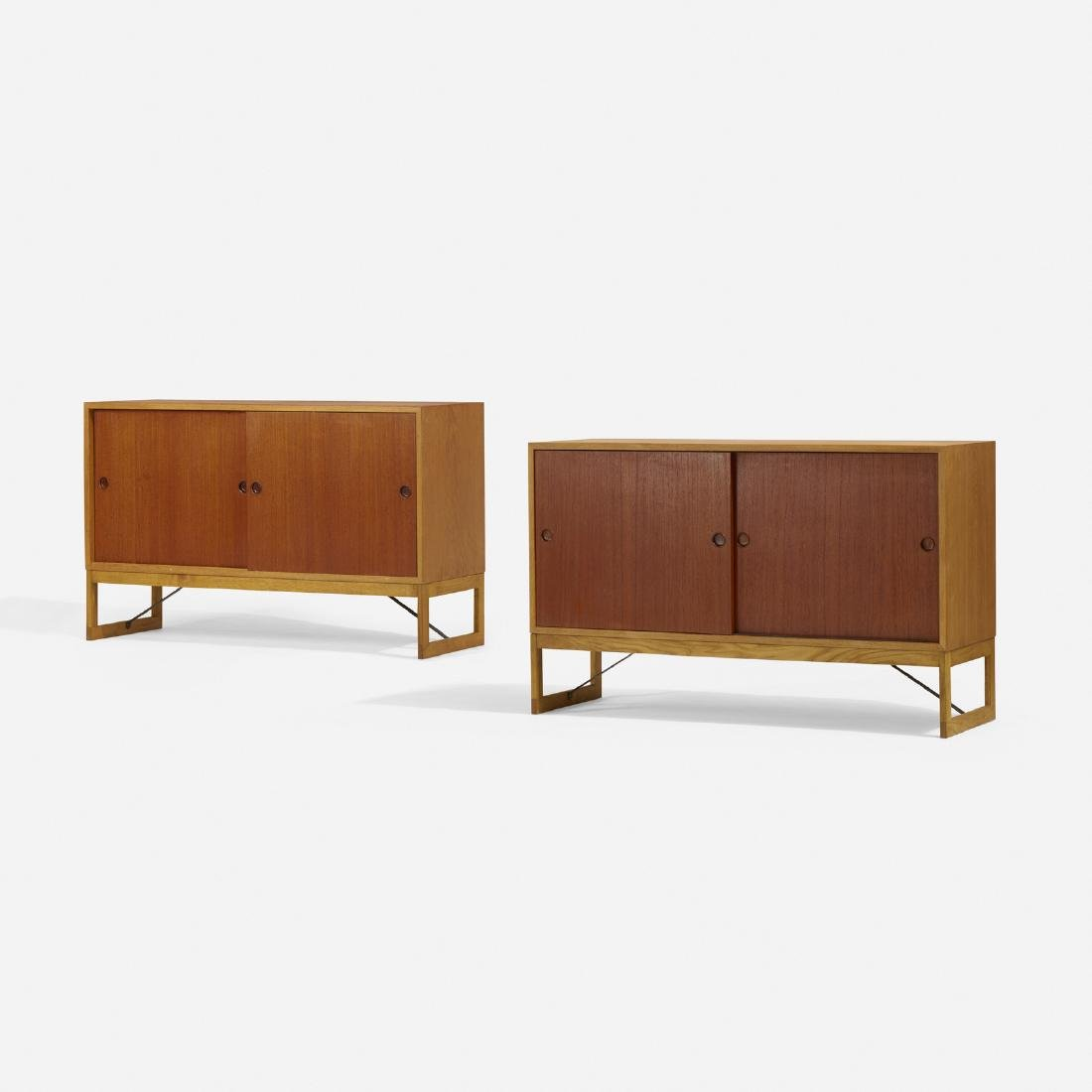 Borge Mogensen, cabinets, pair