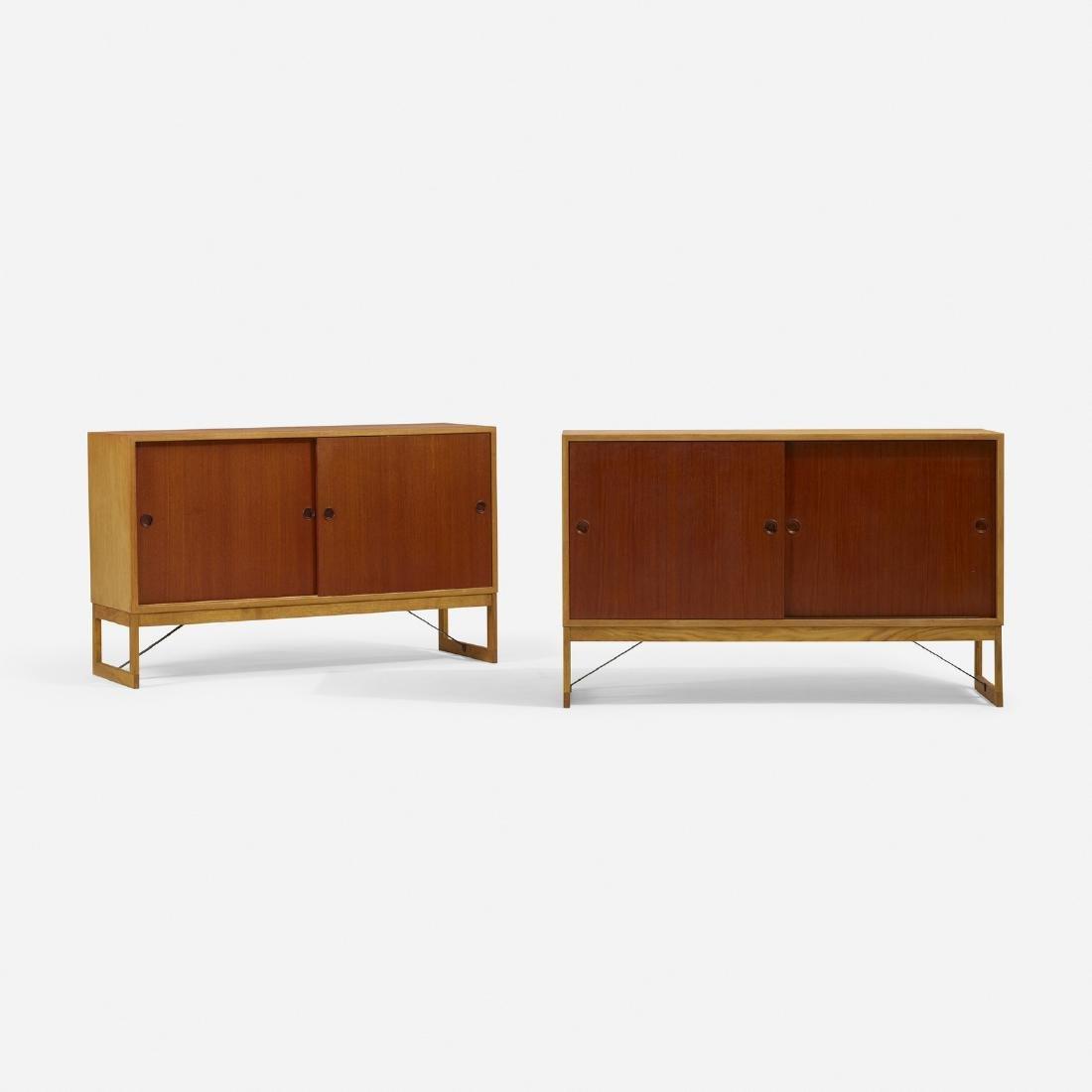 Borge Mogensen, cabinets, pair - 2