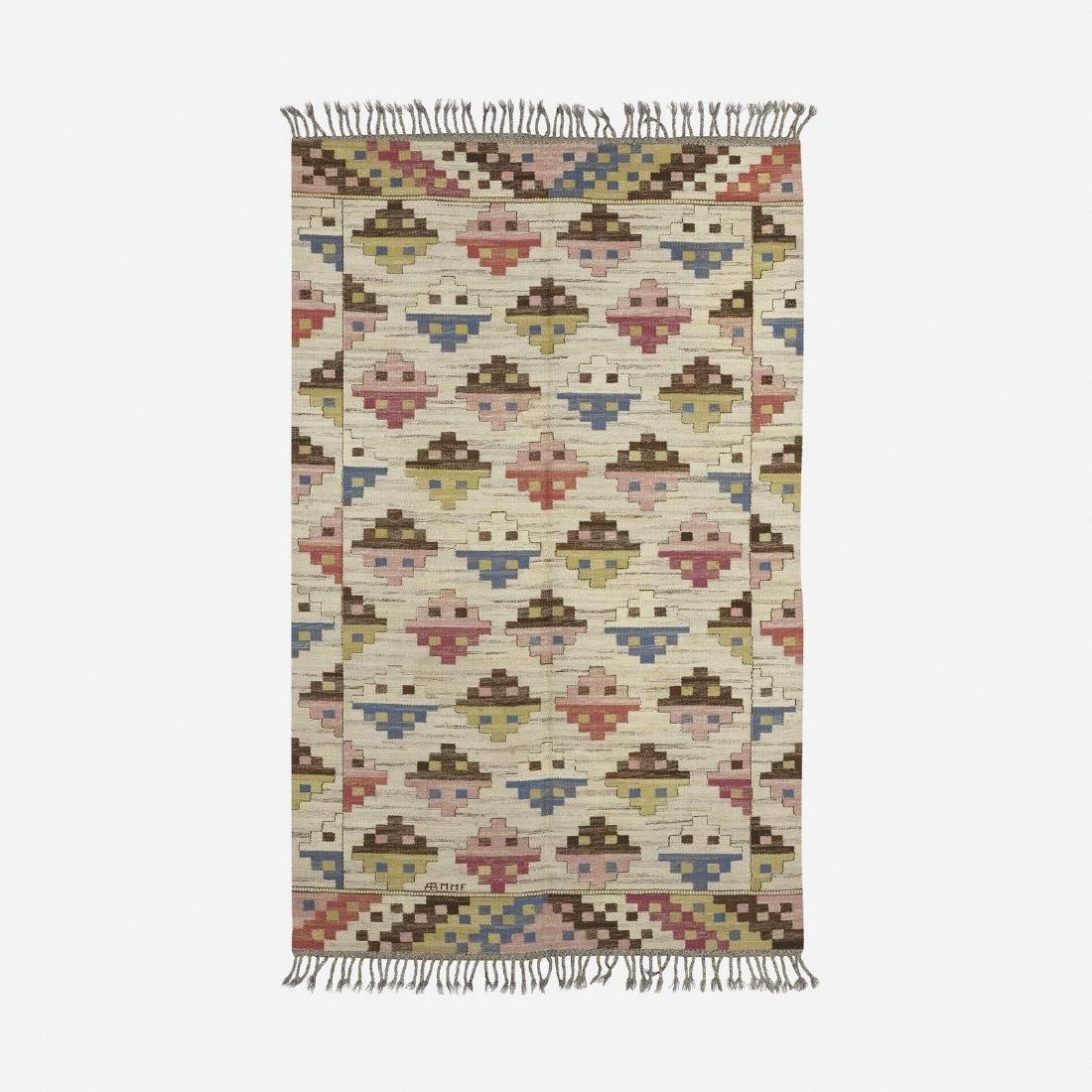 Marta Maas-Fjetterstrom, Munka Ljungby flatweave carpet