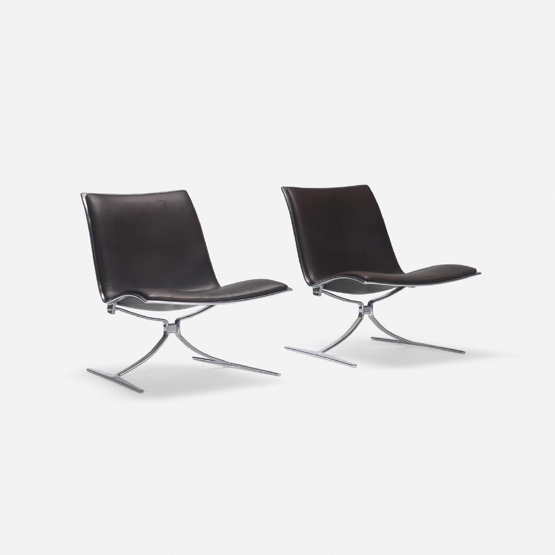 Jorgen Kastholm, Skater chairs, pair