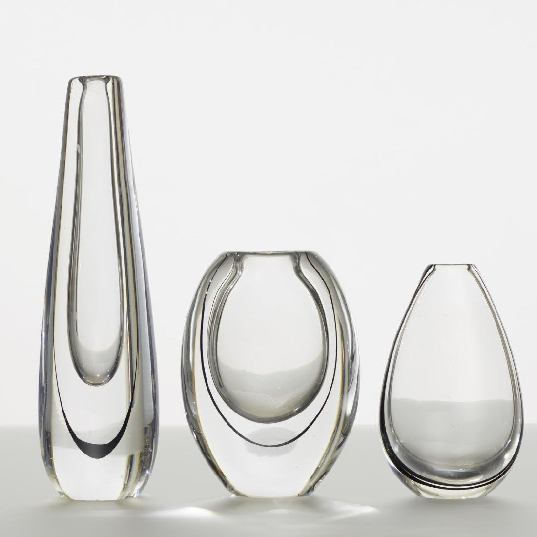 Vicke Lindstrand, collection of three vases - 2