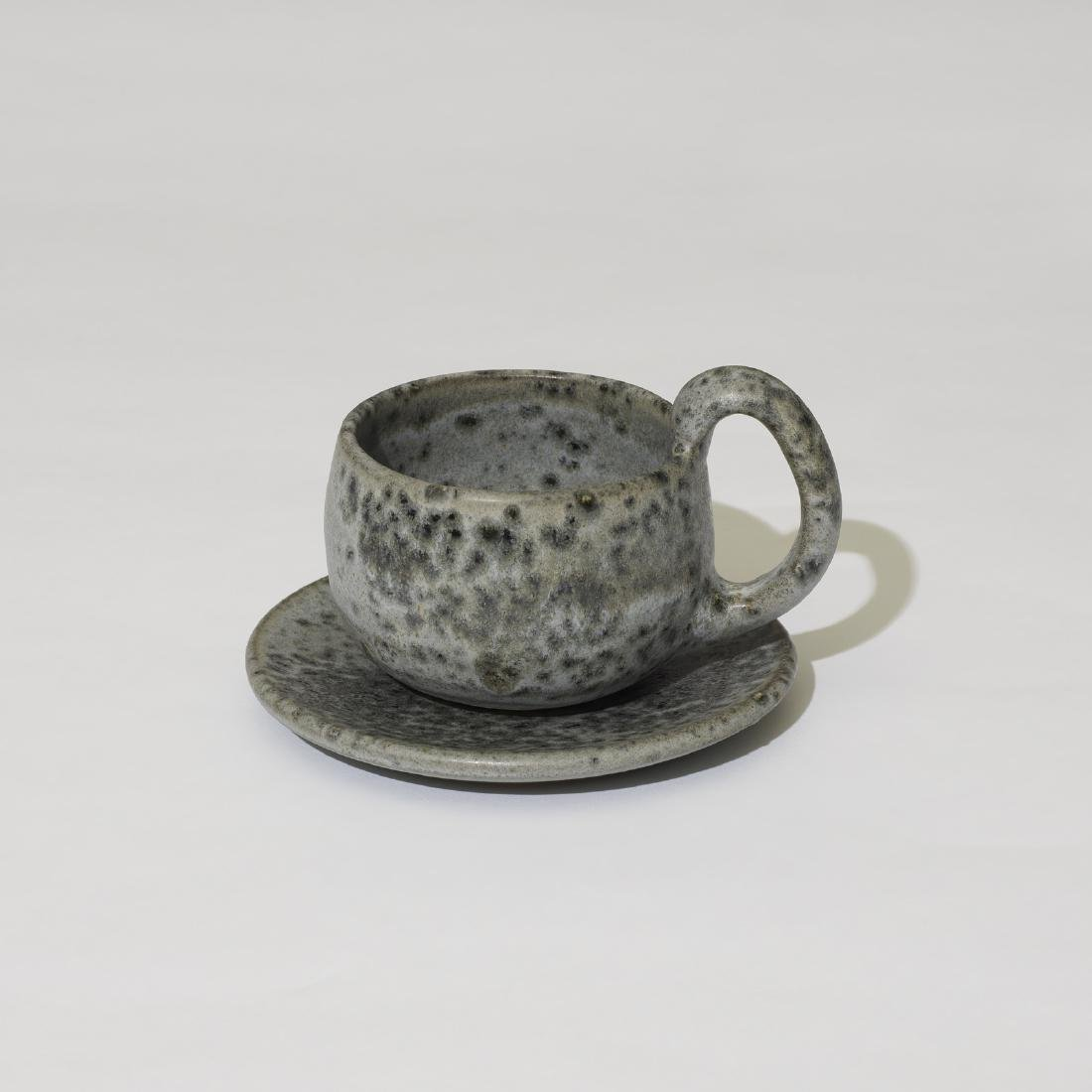Aage and Kasper Wurtz, cups with saucers, set of ten - 3