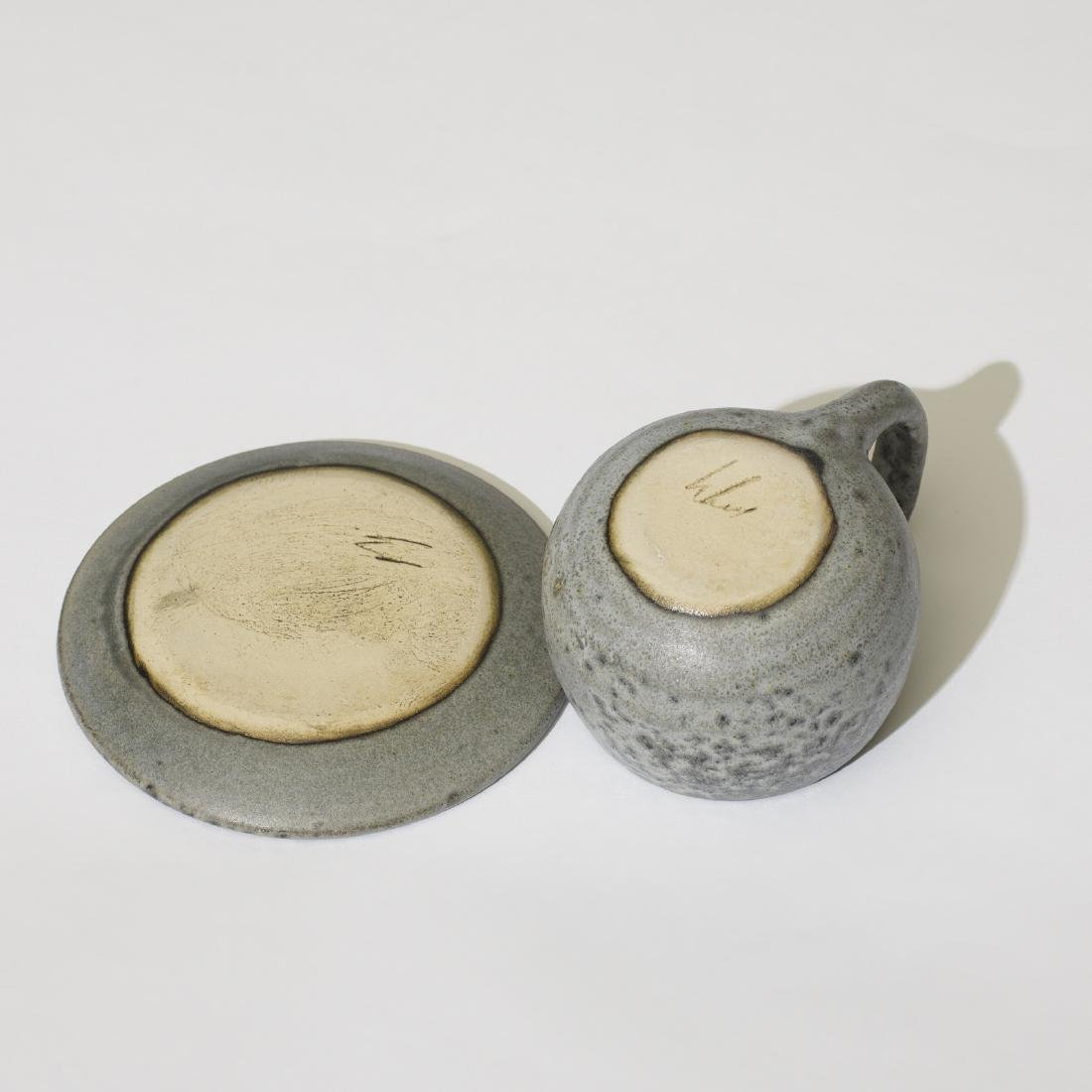 Aage and Kasper Wurtz, cups with saucers, set of ten - 4