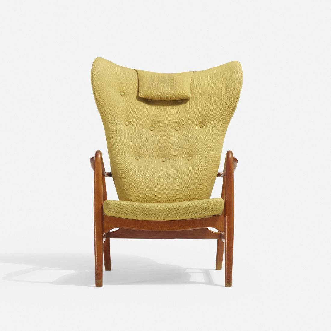 Acton Schubel and Ib Madsen, wingback armchair - 2