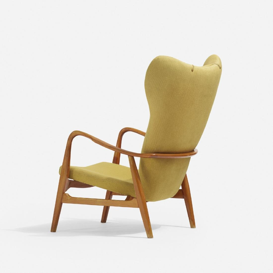 Acton Schubel and Ib Madsen, wingback armchair - 3