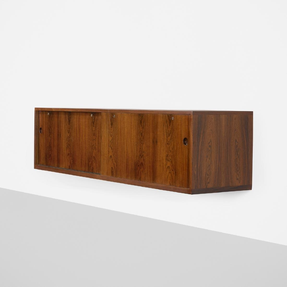 Hans J. Wegner, custom wall-mounted cabinet