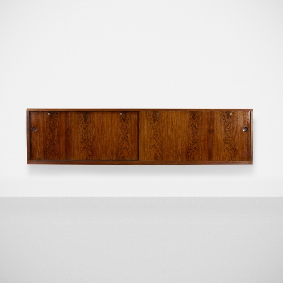 Hans J. Wegner, custom wall-mounted cabinet - 2