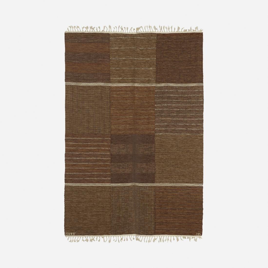 Marianne Richter, Tolv Rutor flatweave carpet