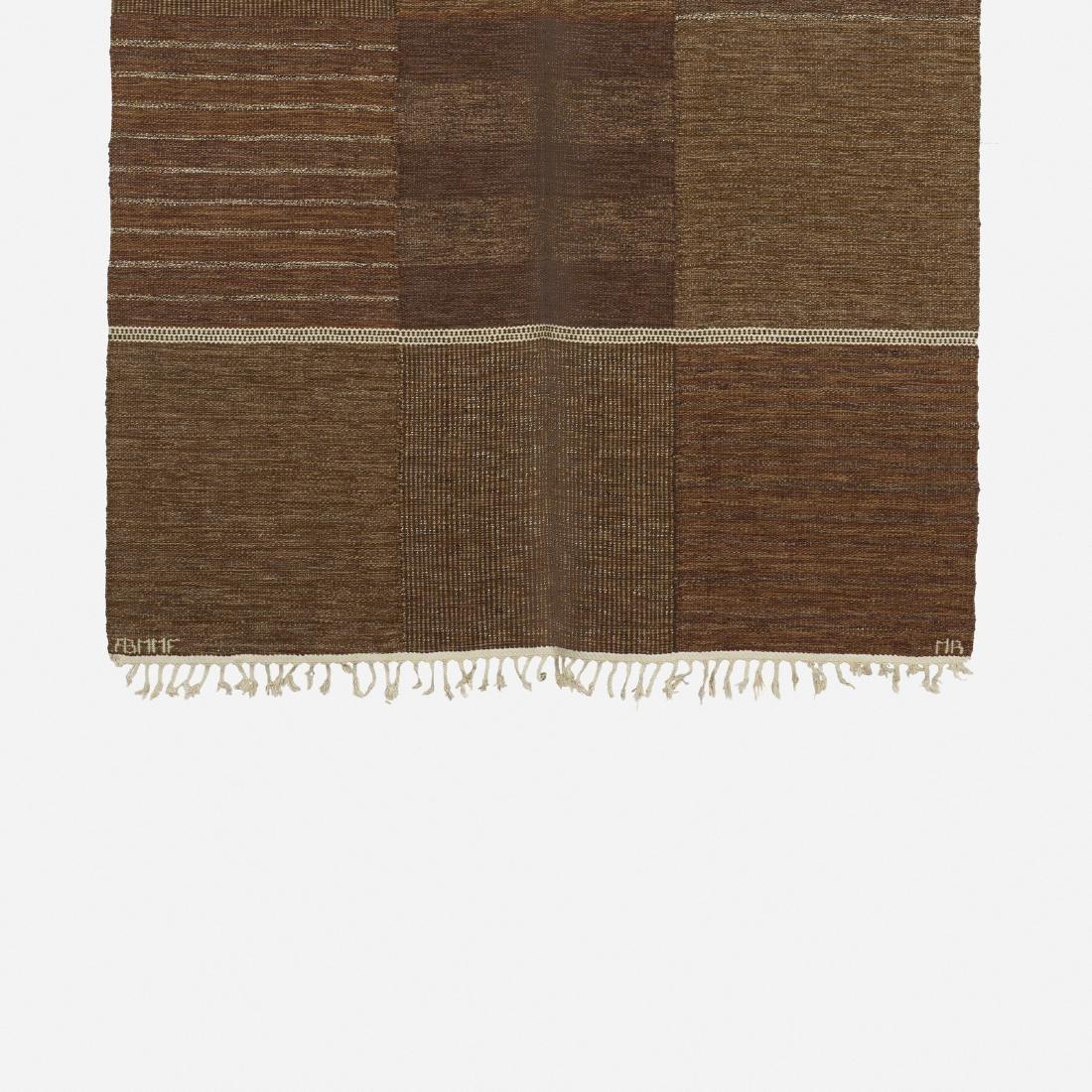 Marianne Richter, Tolv Rutor flatweave carpet - 2