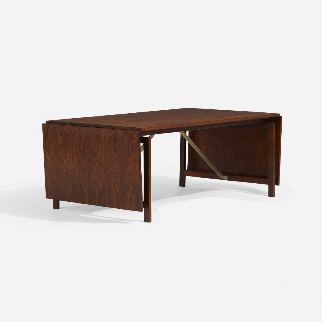 Hans J. Wegner, drop-leaf dining table - 3