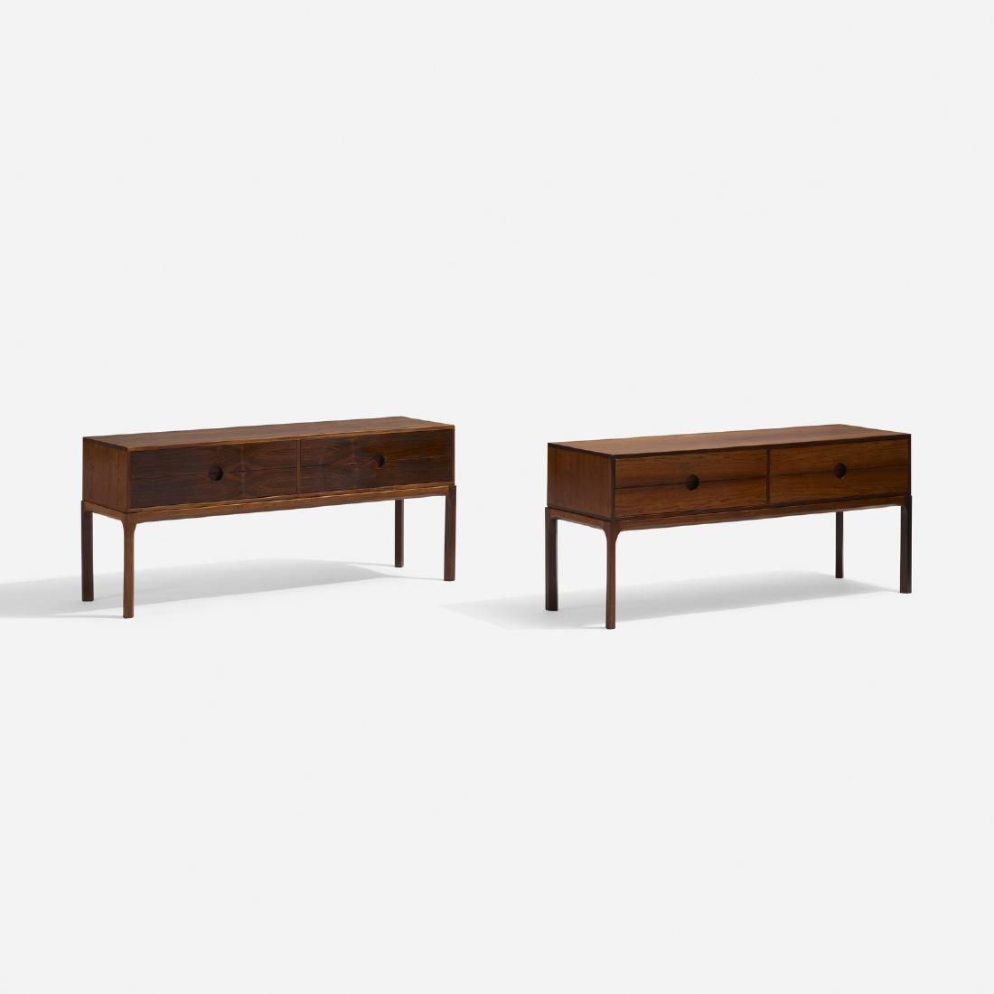 Aksel Kjersgaard, cabinets, pair