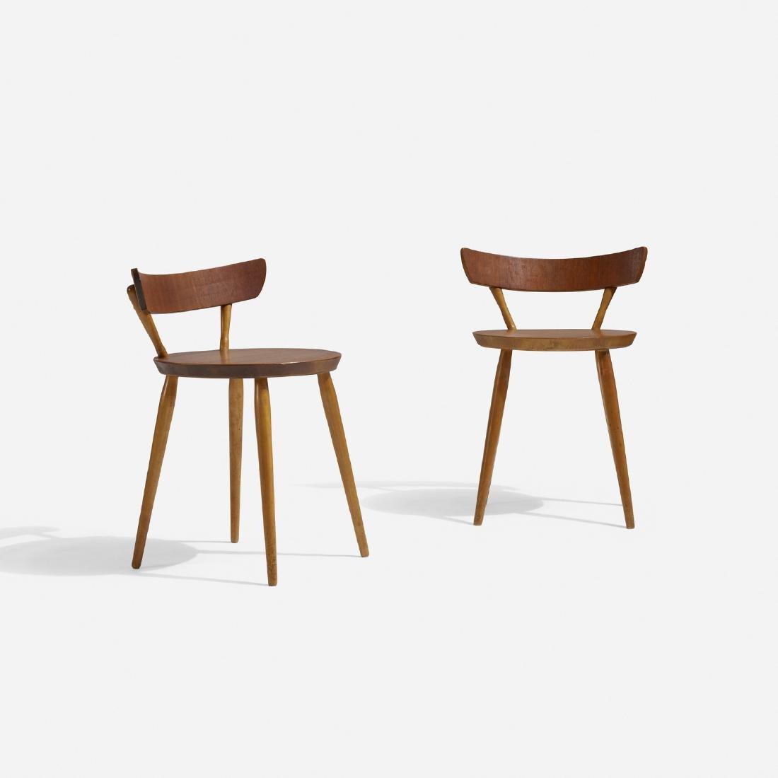 Danish, chairs, pair - 2