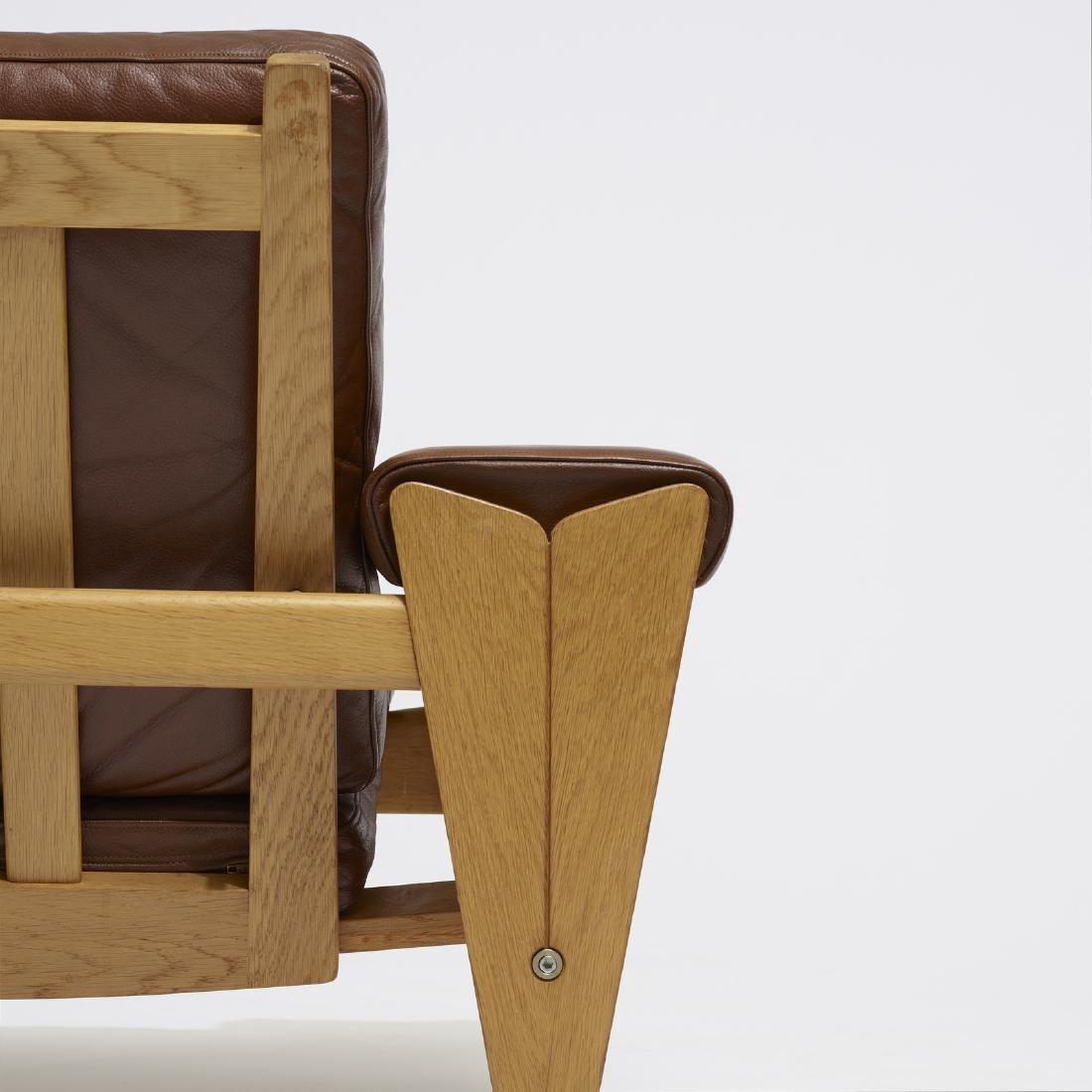 Hans J. Wegner, lounge chairs, pair - 3