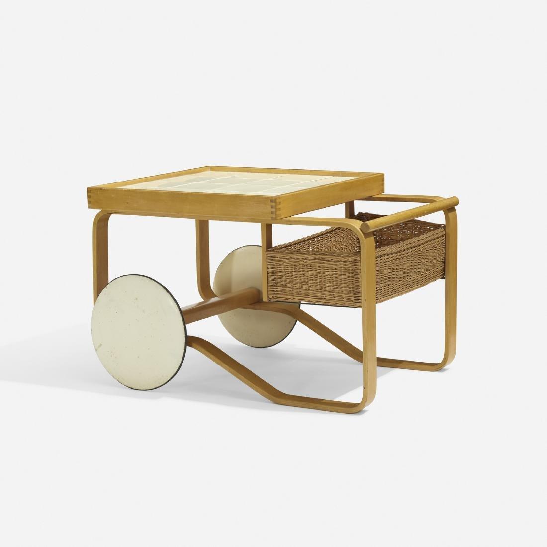 Alvar Aalto, tea trolley