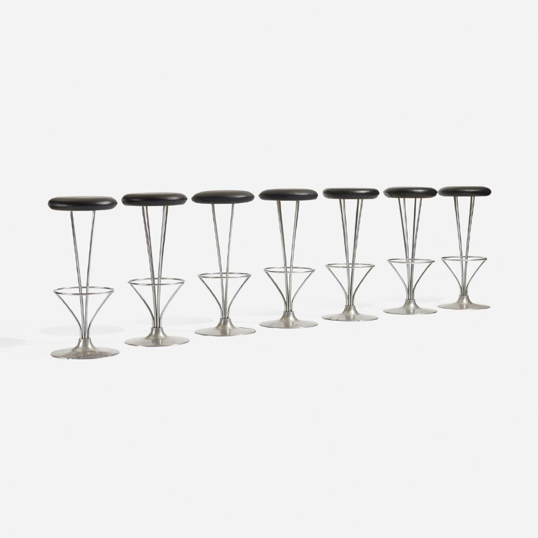 Piet Hein, stools, set of seven - 2
