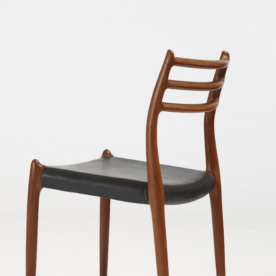 Niels O. Moller, dining chairs, set of six - 3