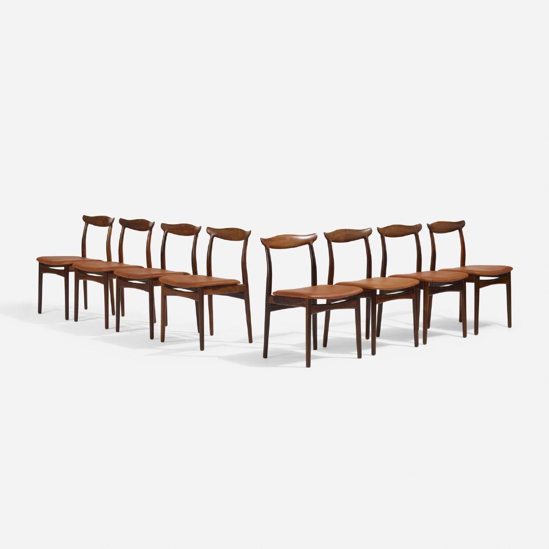 Erik Worts, dining chairs, set of eight