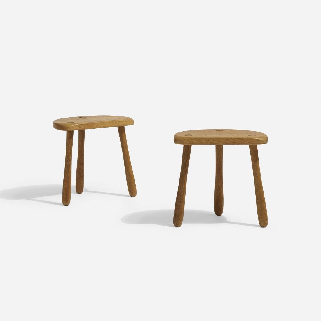 Stilmobler, stools, pair