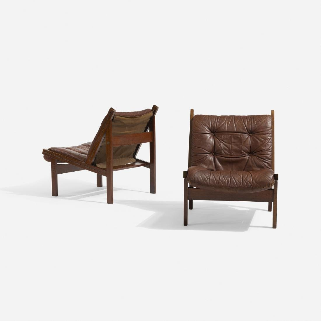 Torbjorn Afdal, lounge chairs, pair
