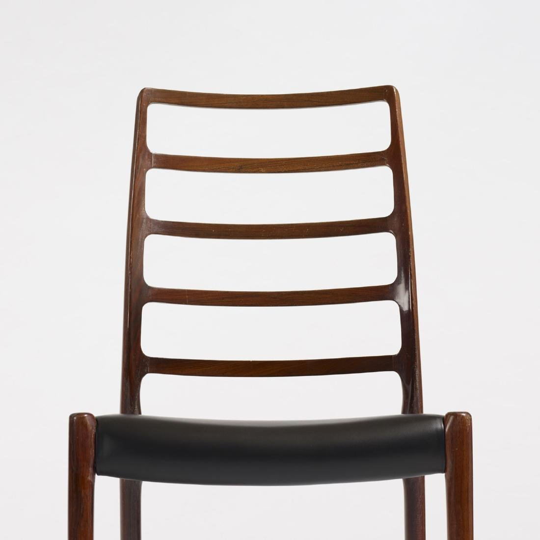 Niels O. Moller, dining chairs, pair - 3