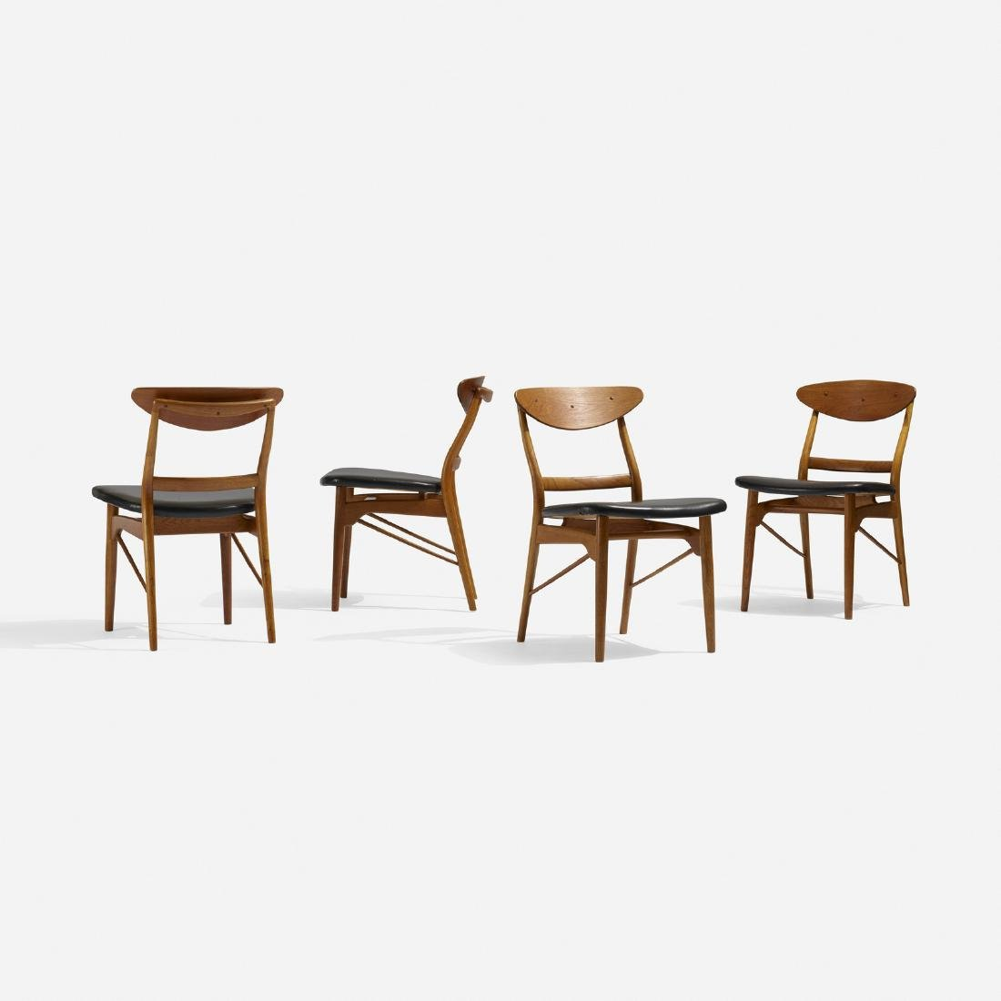 Finn Juhl, dining chairs, set of four
