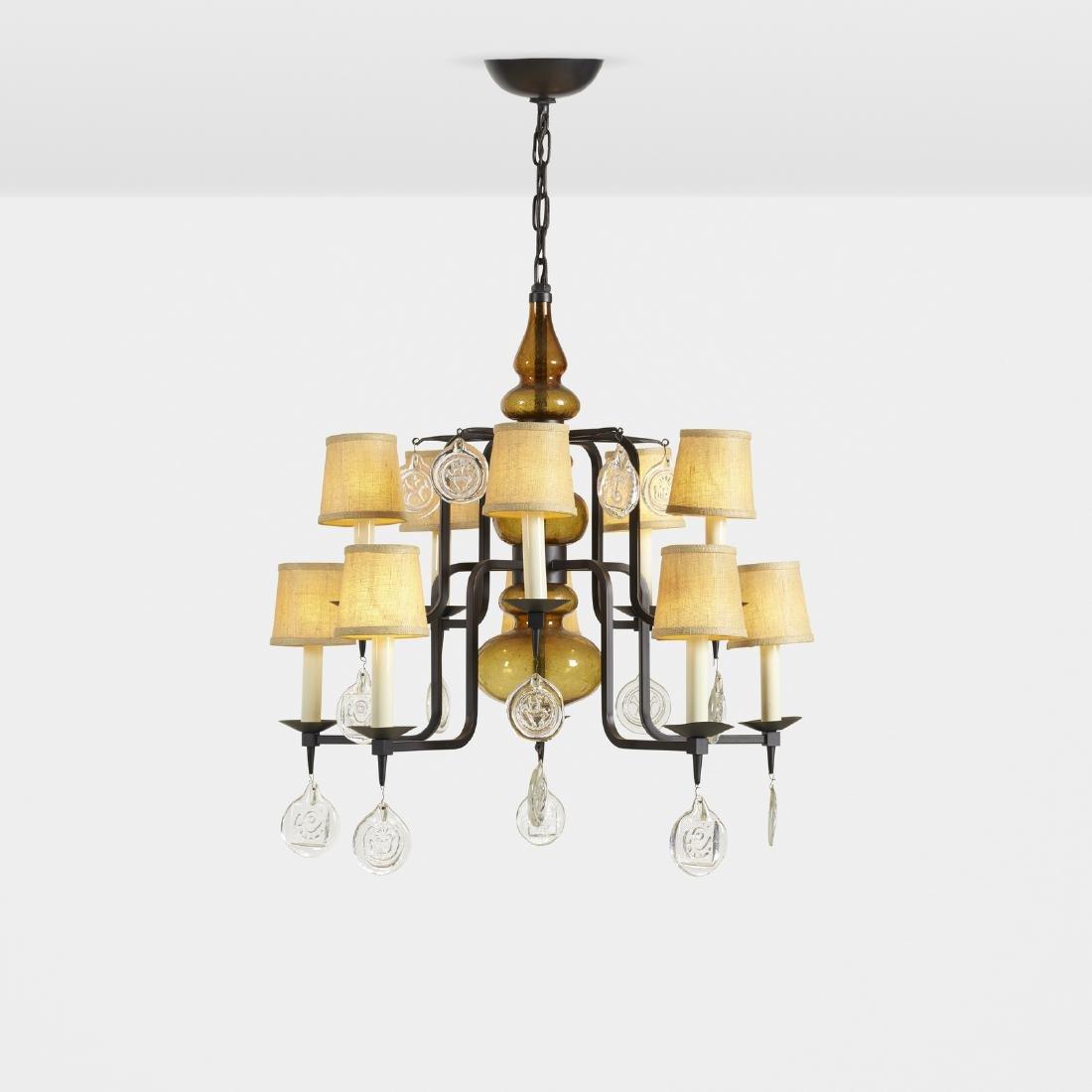 Erik Hoglund, chandelier